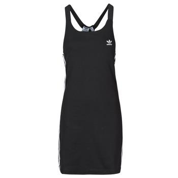 tekstylia Damskie Sukienki krótkie adidas Originals RACER B DRESS Czarny