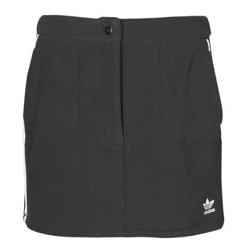 tekstylia Damskie Spódnice adidas Originals FLEECE SKIRT Czarny