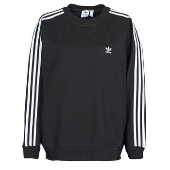 tekstylia Damskie Bluzy adidas Originals OS SWEATSHIRT Czarny