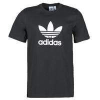 tekstylia Męskie T-shirty z krótkim rękawem adidas Originals TREFOIL T-SHIRT Czarny