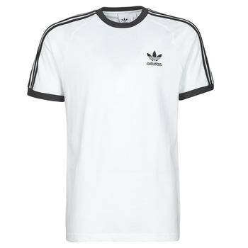 tekstylia Męskie T-shirty z krótkim rękawem adidas Originals 3-STRIPES TEE Biały