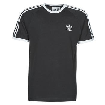 tekstylia Męskie T-shirty z krótkim rękawem adidas Originals 3-STRIPES TEE Czarny