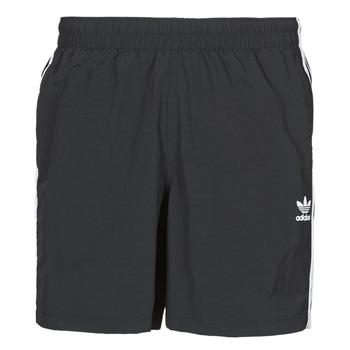 tekstylia Męskie Kostiumy / Szorty kąpielowe adidas Originals 3-STRIPE SWIMS Czarny