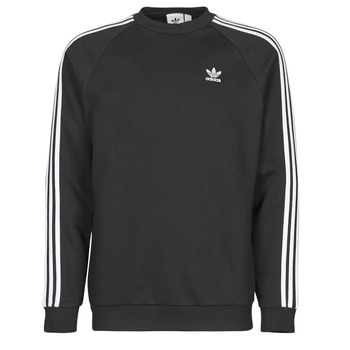 tekstylia Męskie Bluzy adidas Originals 3-STRIPES CREW Czarny
