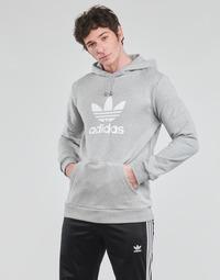 tekstylia Męskie Bluzy adidas Originals TREFOIL HOODIE Szary