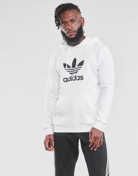 tekstylia Męskie Bluzy adidas Originals TREFOIL HOODIE Biały