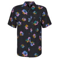tekstylia Męskie Koszule z krótkim rękawem Volcom PLEASURE CRUISE S/S Czarny