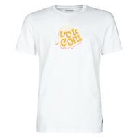 tekstylia Męskie T-shirty z krótkim rękawem Volcom M. LOEFFLER FA SS Biały