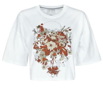 tekstylia Damskie T-shirty z krótkim rękawem Volcom FA FORTIFEM TEE Biały