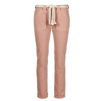 tekstylia Damskie Spodnie z pięcioma kieszeniami Le Temps des Cerises EZRA Brązowy