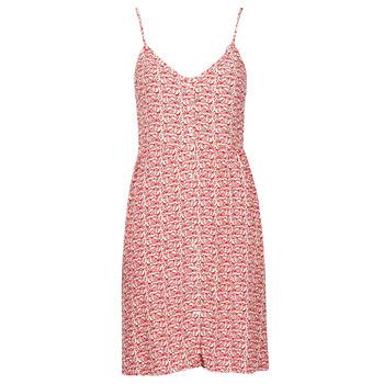 tekstylia Damskie Sukienki krótkie Le Temps des Cerises SIERO Czerwony