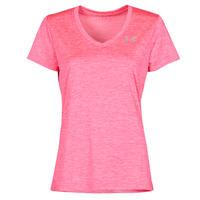 tekstylia Damskie T-shirty z krótkim rękawem Under Armour TECH SSV Różowy