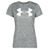 tekstylia Damskie T-shirty z krótkim rękawem Under Armour TECH TWIST BL SSC Szary