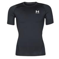 tekstylia Męskie T-shirty z krótkim rękawem Under Armour UA HG ARMOUR COMP SS Czarny