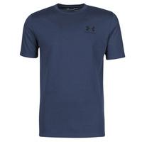 tekstylia Męskie T-shirty z krótkim rękawem Under Armour UA SPORTSTYLE LC SS Niebieski