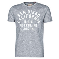 tekstylia Męskie T-shirty z krótkim rękawem Petrol Industries T-SHIRT SS R-NECK K Szary
