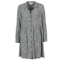 tekstylia Damskie Sukienki długie Esprit ROBE PRINT Czarny