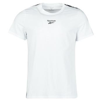 tekstylia Męskie T-shirty z krótkim rękawem Reebok Classic TE TAPE TEE Biały