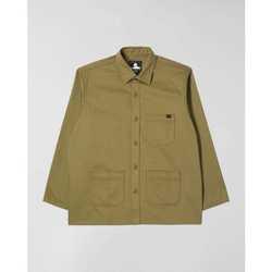 tekstylia Męskie Koszule z długim rękawem Edwin Chemise  Major olive