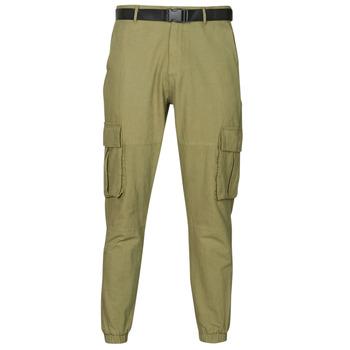 tekstylia Męskie Spodnie z pięcioma kieszeniami Yurban OUNERI Kaki