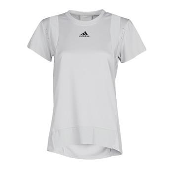 tekstylia Damskie T-shirty z krótkim rękawem adidas Performance TRNG TEE H.RDY Szary