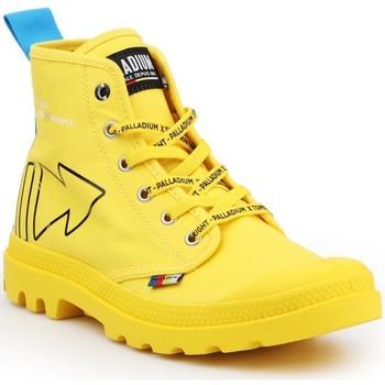 Buty Buty za kostkę Palladium Pampa Dare REW FWD 76862-709-M żółty