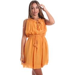 tekstylia Damskie Sukienki krótkie Fracomina FR20SMANA Żółty