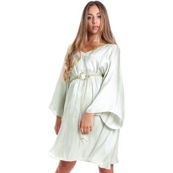 tekstylia Damskie Sukienki krótkie Fracomina FR20SMELISABETH Zielony