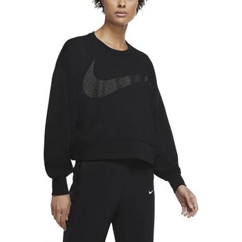 tekstylia Damskie Bluzy Nike Dri-FIT Get Fit CU9014 Czarny