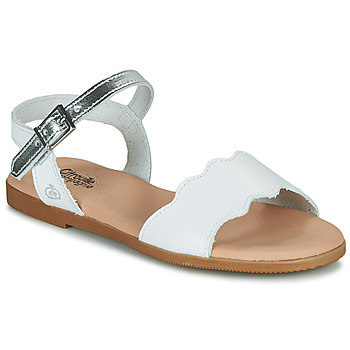 Buty Dziewczynka Sandały Citrouille et Compagnie OBILO Biały