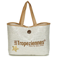 Torby Damskie Torby shopper Les Tropéziennes par M Belarbi PANAMA Beżowy
