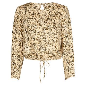 tekstylia Damskie Koszule Levi's AMMOLITE SHIFTING SAND Beżowy