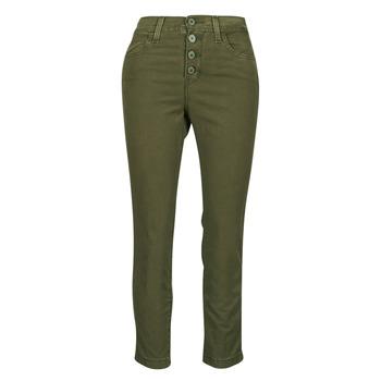 tekstylia Damskie Spodnie z pięcioma kieszeniami Levi's SOFT CANVAS OLIVE NIGHT OD Kaki