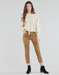 tekstylia Damskie Spodnie z pięcioma kieszeniami Levi's SOFT CANVAS TOASTED COCONUT OD Beżowy