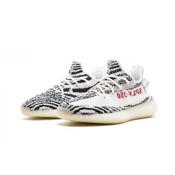Buty Trampki niskie adidas Originals Yeezy Boost 350 V2 Zebra Ftwr White/Core Black/Red