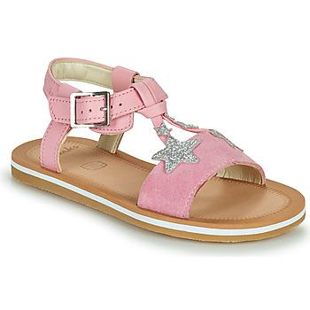 Buty Dziewczynka Sandały Clarks FINCH SUMMER K Różowy