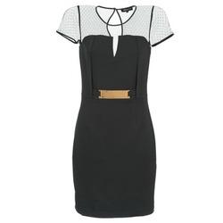 tekstylia Damskie Sukienki krótkie Morgan ROULA Czarny