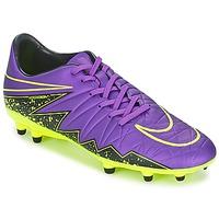 Buty Męskie Piłka nożna Nike HYPERVENOM PHELON II FG Fioletowy