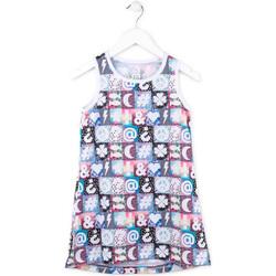tekstylia Dziewczynka Sukienki krótkie Losan 714 7001AB Różowy