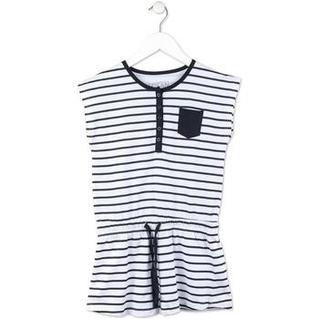 tekstylia Dziewczynka Sukienki krótkie Losan 714 7044AB Niebieski