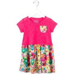 tekstylia Dziewczynka Sukienki krótkie Losan 716 7017AD Różowy