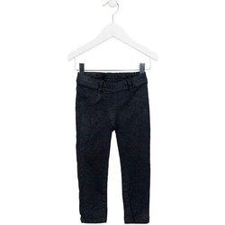 tekstylia Dziewczynka Spodnie z pięcioma kieszeniami Losan 726 9000AD Niebieski