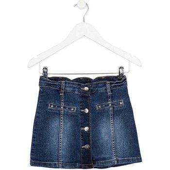 tekstylia Dziewczynka Spódnice Losan 724 7018AB Niebieski