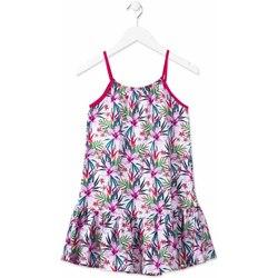 tekstylia Dziewczynka Sukienki krótkie Losan 814-7043AB Różowy