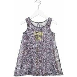 tekstylia Dziewczynka Sukienki krótkie Losan 816-7033AD Szary
