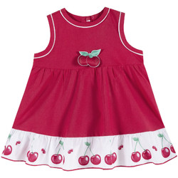tekstylia Dziewczynka Sukienki krótkie Chicco 09003398000000 Czerwony