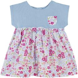 tekstylia Dziewczynka Sukienki krótkie Chicco 09003412000000 Niebieski
