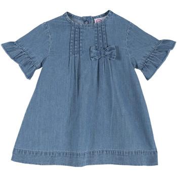 tekstylia Dziewczynka Sukienki krótkie Chicco 09003414000000 Niebieski