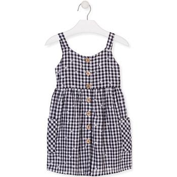 tekstylia Dziewczynka Sukienki krótkie Losan 016-7002AL Niebieski