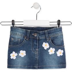 tekstylia Dziewczynka Spódnice Losan 016-7049AL Niebieski